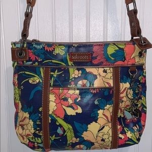 Sakroots Floral Crossbody Purse